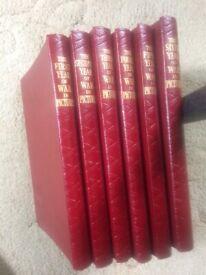 Odham's Press World War II in Pictures , 6 vol. set