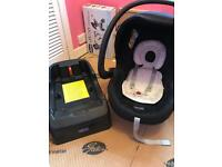 Chicco car seat and auto fix