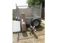 Ifor Williams P6e trailer in good condition with new accessories