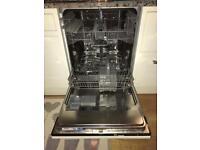 Electrolux Favorit integrates dishwasher