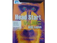 Headstart WJEC gsce English book