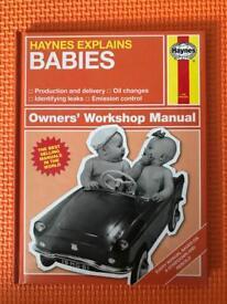 Haynes Explains Babies - Baby Book