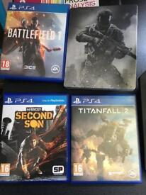 All games in good condition