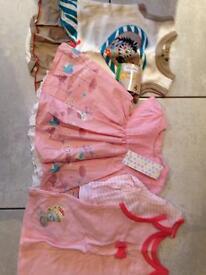 Never been worn 3-6 month baby girl dresses