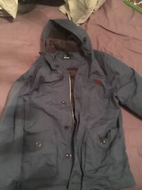 FRED PERRY Men's size M offshore parka