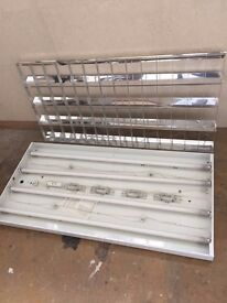 90 Suspended ceiling lights 1200x600 & 600x600 Absolute Bargain