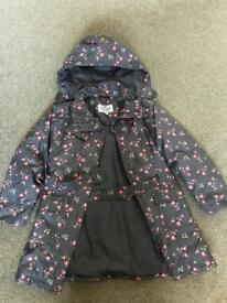 Girls Peter Storm coat size7/8yrs
