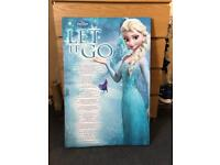 Disney Frozen canvas picture