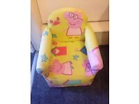 Handmade peppa pig chair LAST ONE