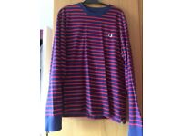 Men's Fred Perry striped jumper