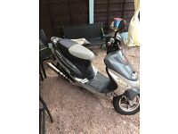 Pulse scout 49 2011 plate moped scooter plus extras