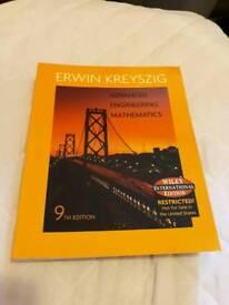 Advanced Engineering Mathematic by Erwin Kreyszig