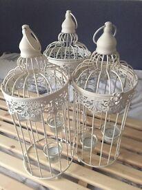 3 candle lantern displays