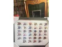 Official Post Office Stamp Display