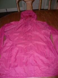 Pink Pak-A-Mac size 14