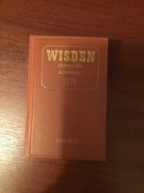 Wisden Cricketers' Almanack 1971