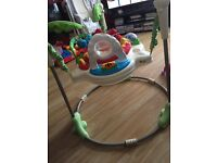 Good condition jumparoo and chair