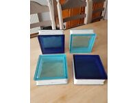 Glass Tiles - Art Deco Style - Job Lot