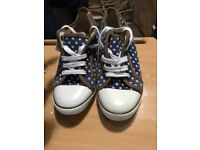 Blue trainers shoes 6