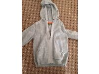 Boys Ted baker zip up jumper size 5-6 years