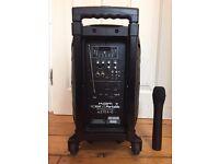 Kam RZ10A V3 400W Portable PA DJ Speaker/Amplifier