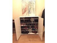 Shoe cabinet - white gloss