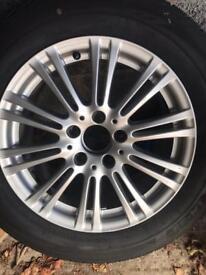 """4 X 16"""" ronal alloy wheels with 225/55 Bridgestone bizzark alloy wheels"""