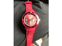 GENUINE ICE WATCH RED EXCELLENT CONDITION
