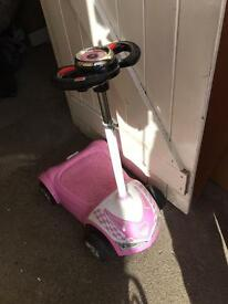 Child's electric scooter