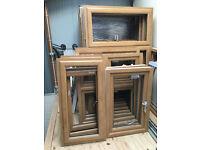 UPVC Windows - Irish Oak