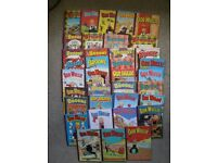 36 OOR WULLIE AND BROONS COMIC ANNUALS
