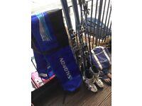 Head 160cm Skis, Salomon s710 bindings, Techica 90 Boots Size 6, Scott Poles and Ski & boots bags.