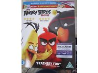 BLU RAY ANGRY BIRD WITH 3D VERSION