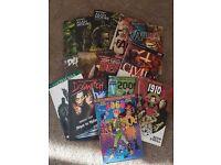 15 Graphic novels £60 ono Swamp thing, The walking dead, Batman, Civil war, Alan Moore