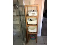 Bathroom shelving, great condition