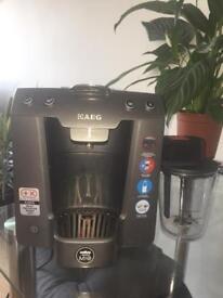 LavAzza AModo MIO Coffee maker and milk frother.