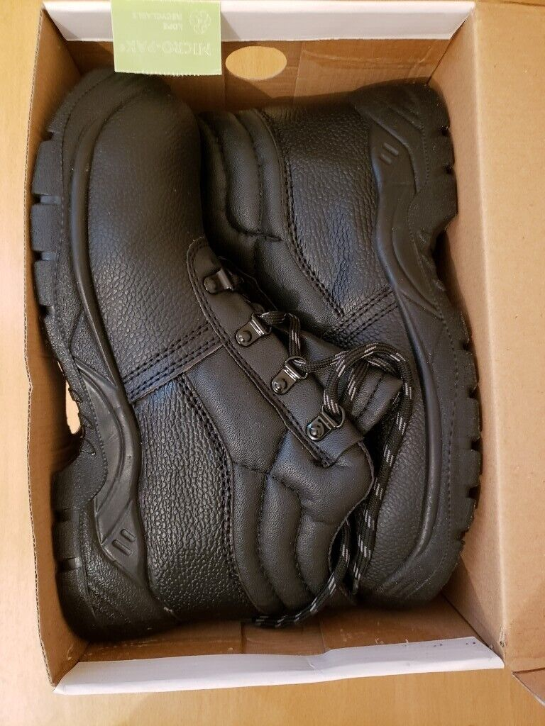 d5a2802112a Safety Work Boots with Steel Toe Cap and Midsole Protection, Size: 8UK | in  Reading, Berkshire | Gumtree