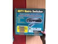 HDTV component mixer