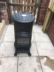 Cast iron gas stove
