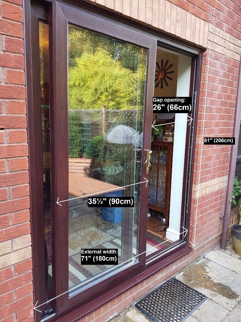 Patio Sliding Door Upvc In Rosewood In Banbury Oxfordshire Gumtree