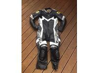 RS Taichi one piece race suit, motorcycle leathers