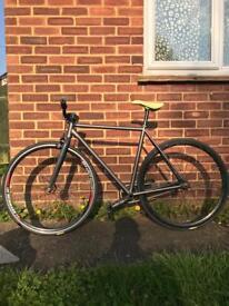 Subrosa Malum custom fixie single speed flip flop hub bike