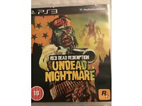 Red Dead Redemption - Undead Nightmare PS3 Game