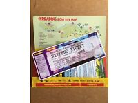 1 X SPARE READING WEEKEND TICKET WITH CAMPING - COLLECT FROM LONDON IN THE MORNING!