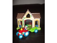 Happyland farm, tractor, trailer and figure as seen, view, collect or deliver Stonehaven only
