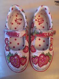 Lelli Kelly girl shoes size 30/12