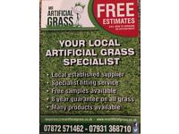 Mr Artificial grass, local supplier and installer at competitive prices!