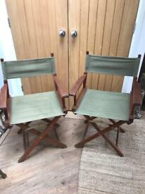 REDUCED Pair of Garden Fold Down Chairs