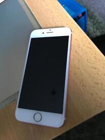 iPhone 6s rose gold 16gb unlocked £250