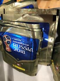 10 pkts Fifa World Cup Russia 2018 Football Cards
